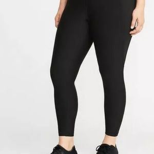 Old Navy Active Size XXL Black High Rise Leggings